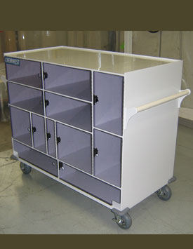 Plastic Transportation Carts
